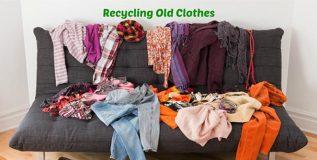 जुन्या कपड्यांचा पुनर्वापर