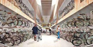 जगातील सर्वात मोठे सायकल पार्किंग