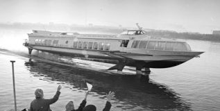 तुम्ही पाहिले आहे का पाण्यावर धावणारे जगातील पहिले 'रॉकेट' ?