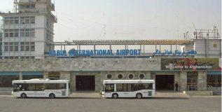 अमेरिकेच्या संरक्षणमंत्र्यांच्या आगमनानंतर काबूल विमानतळावर रॉकेट हल्ला
