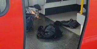 इसिसने स्वीकारली लंडनमधील मेट्रो स्फोटाची जबाबदारी