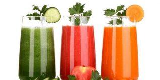 ताज्या फळांचे व भाज्यांचे रस आरोग्यास हितकारी