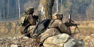 श्रीनगरमध्ये दहशतवादी हल्ल्यात चार जवान जखमी