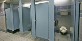 खालच्या बाजूने का उघडे असतात परदेशातील शौचालयाचे दरवाजे ?