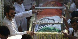श्रीदेवीवर शासकीय अंत्यसंस्कार मुख्यमंत्र्यांच्या आदेशाने, माहिती अधिकारात बाब उघड