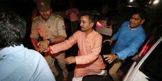बलात्कार प्रकरणी भाजप आमदार कुलदीप सेंगरला अटक