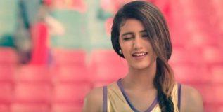 'नॅशनल क्रश' प्रियाचा आणखी एक व्हिडीओ व्हायरल