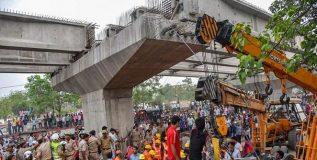 वाराणसीतील पूल अपघात