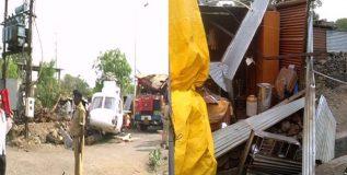 मुख्यमंत्र्यांच्या हेलिकॉप्टर अपघातात नुकसान झालेले कुटुंब अजूनही घराच्या प्रतीक्षेत