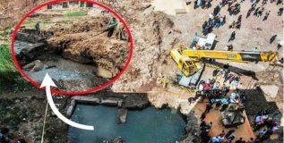 मातीच्या ढिगाखाली सापडला तीन हजार वर्षे जुना खजिना