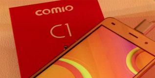 कॉमिओचा सी वन स्मार्टफोन भारतात आला