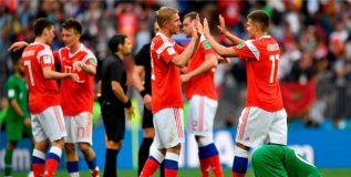 फिफा विश्वचषक : रशियाने उडवला 'सौदी'चा ५-० ने धुव्वा
