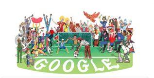 फिफा फुटबॉल विश्वचषकानिमित्त गुगलचे विशेष डुडल