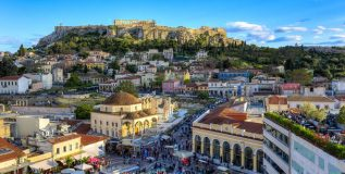 ग्रीसची वैभवशाली प्राचीन नगरी अथेन्स