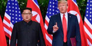 अवघ्या १० दिवसातच ट्रम्प यांचा यू-टर्न: उत्तर कोरियापासून धोका कायम