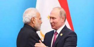 रशियाच्या पहिल्या पाच मित्रांमध्ये आजही भारताला जागा