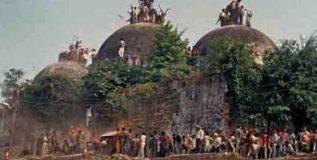 हिंदू तालिबान्यांनी उद्ध्वस्त केली बाबरी मशीद