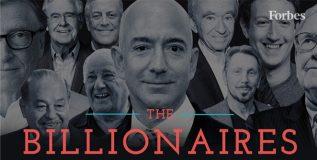 जगातील सर्वात श्रीमंत पाच अब्जाधीश