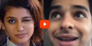 व्हिडीओ; 'व्हायरल गर्ल' प्रियाला टक्कर देत आहे इशान!
