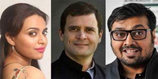 सेक्रेड गेम्स: अनुराग कश्यप, स्वरा भास्करकडून राहुल गांधींच्या मताची प्रशंसा