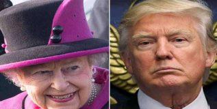 तीव्र विरोध असूनही ट्रम्प- महाराणी एलिझाबेथ भेट होणार