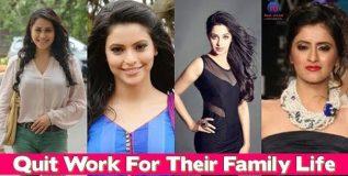 या अभिनेत्रींनी परिवाराच्या देखभालीसाठी केला अभिनयक्षेत्राचा त्याग