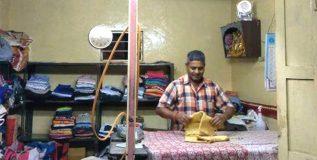 आता कपड्यांना इस्त्री करण्यासाठी लॉन्ड्रीमध्ये नव्या प्रकारच्या इस्त्रीचा वापर