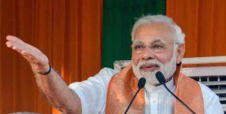 काँग्रेस पक्ष दलित आणि मागासवर्गीय समाजाविरोधात : नरेंद्र मोदी