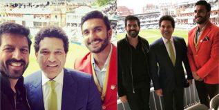 लॉर्ड्सवर क्रिकेटच्या 'लॉर्ड'शी रणवीरची ग्रेटभेट