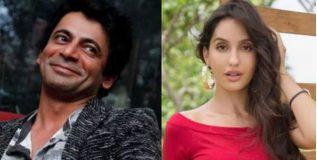 सुनिल ग्रोव्हरचा 'भारत'मध्ये नूरा फतेहीसोबत रोमान्स ?