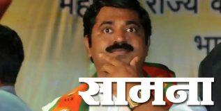 महाराष्ट्र धर्म भाजपच्या विकृतीमुळे बुडाला; शिवसेना