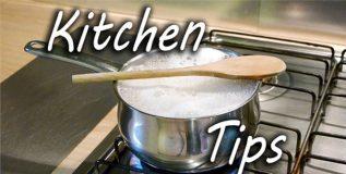 स्वयंपाकामध्ये उपयोगी पडतील अश्या काही सोप्या टिप्स
