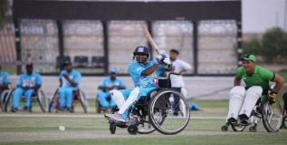 व्हीलचेअर क्रिकेट स्पर्धेतही भारताने पाकला लोळविले