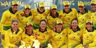 ऑस्ट्रेलियाचा महिला संघ आयसीसीच्या टी-२० जागतिक क्रमवारीत  'अव्वल'