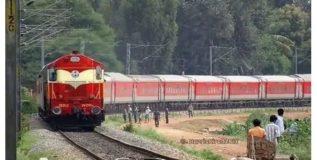 भारत नेपाळ पहिल्या प्रवासी रेल्वेचे उत्स्फूर्त स्वागत