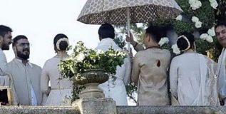 रणवीर-दीपिकाच्या लग्नाचे फोटो व्हायरल!