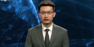 चीनची वृत्तसंस्था असलेल्या झिन्हुआच्या बातम्या सांगतो आहे चक्क रोबोट