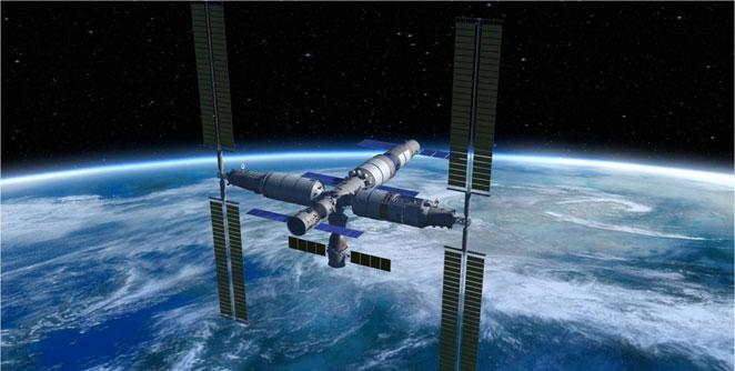 अमेरिकेला हिसका देण्यासाठी चीन लाँच करतेय अंतराळ स्टेशन - Majha Paper