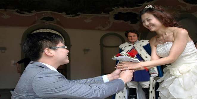 चिनी मुलांवर वधू आयात करण्याची पाळी