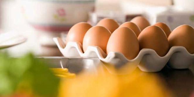 तरतरीतपणासाठी अंडी