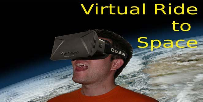 व्हर्च्युअल टेक्नॉलॉजीने घरबसल्या अंतराळसफर